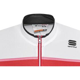 Sportful Pista Jersey Men black/white/red-coral fluo